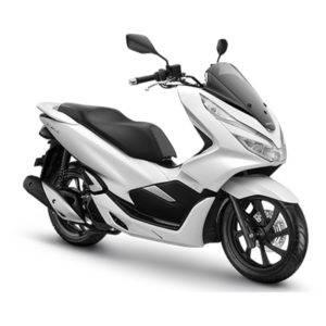Honda PCX 150 Wonderful White