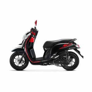 New Honda Scoopy Sporty Black