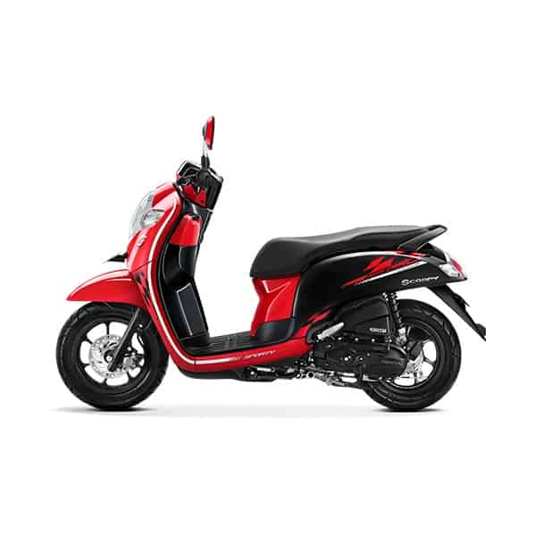 scoopy esp sporty red