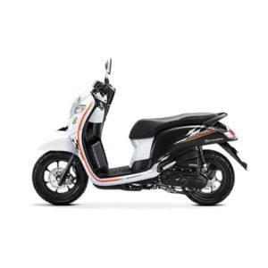 New Honda Scoopy Sporty White