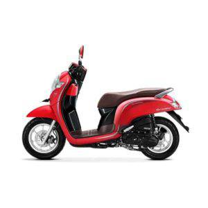 New Honda Scoopy Stylish Matte Red