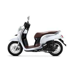 New Honda Scoopy Stylish White