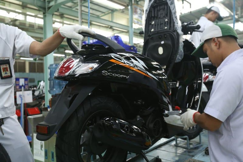 Honda Scoopy eSP