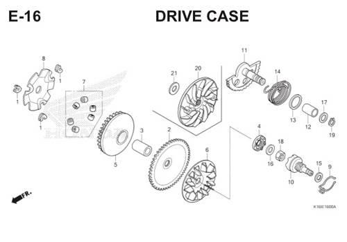 E16 – Drive Face – Katalog Honda Scoopy eSP K16
