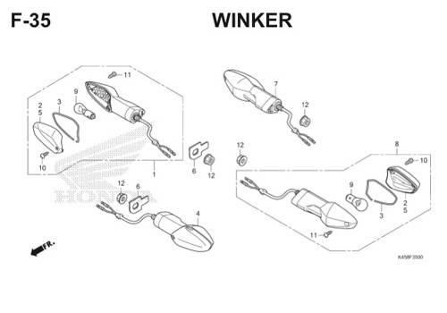 F-35 Winker CBR 150R K45A
