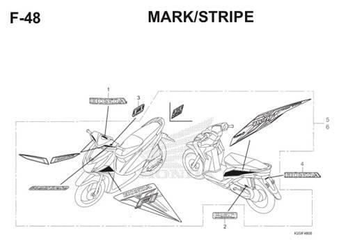 F 48 Mark Stripe BeAT eSP K25