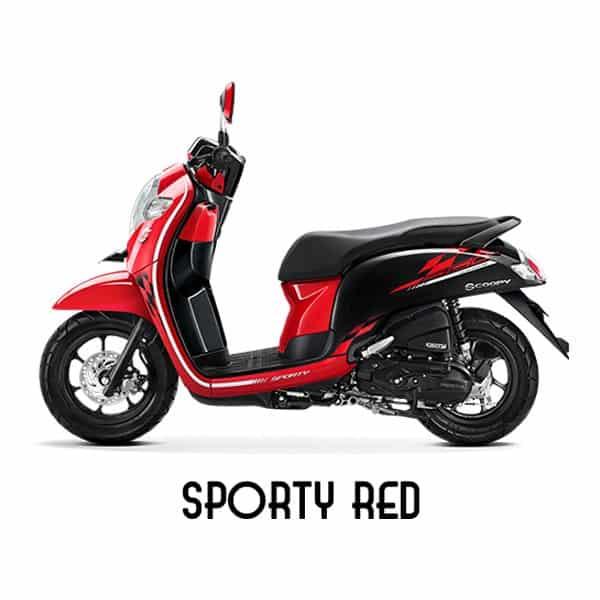scoopy esp k93 sporty red