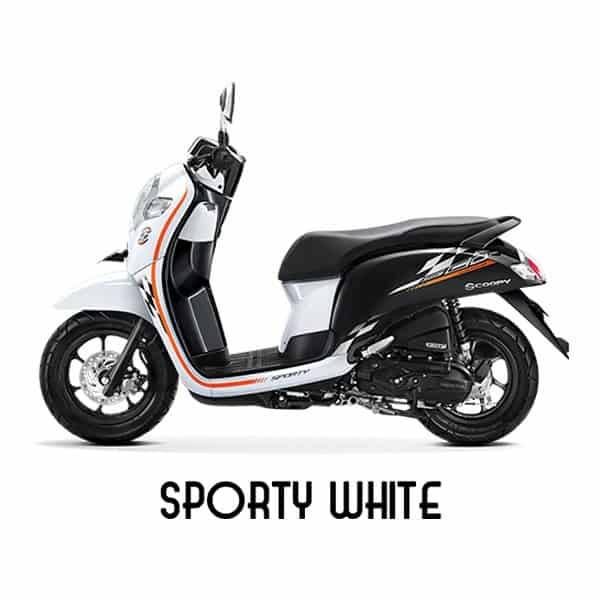 scoopy esp k93 sporty white