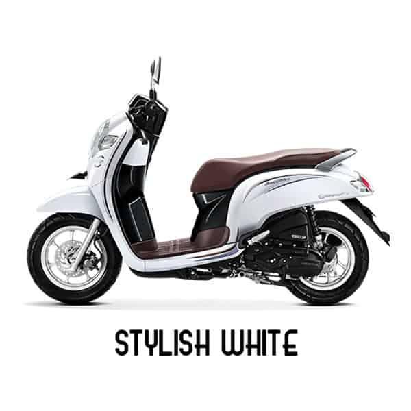 scoopy esp k93 stylish white