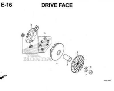 E-16-Drive-Face-PCX-150-K97
