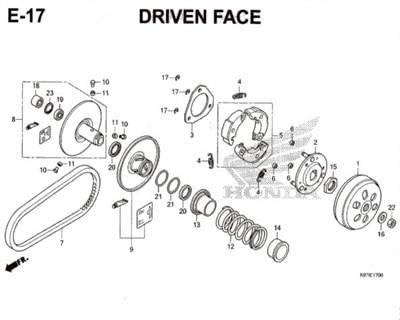 E-17-Driven-Face-Pcx-150-K97