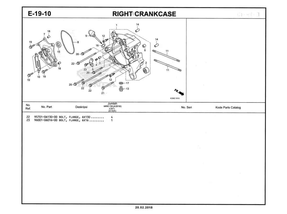 E-19-10-1-Right-Crankcase-Katalog-New-Vario-150-K59J