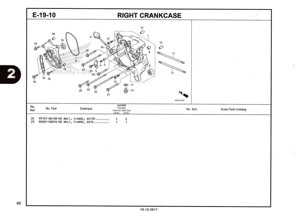 E-19-10-1-Right-Crankcase-Katalog-Pcx-K97