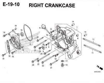 E-19-10-Right-Crankcase-Pcx-K97