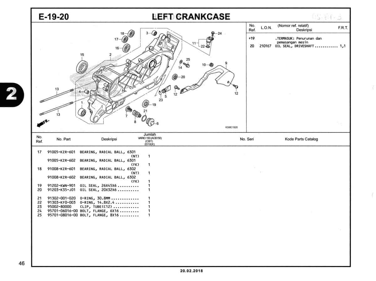 E-19-20-Left-Crankcase-Katalog-New-Vario-150-K59J