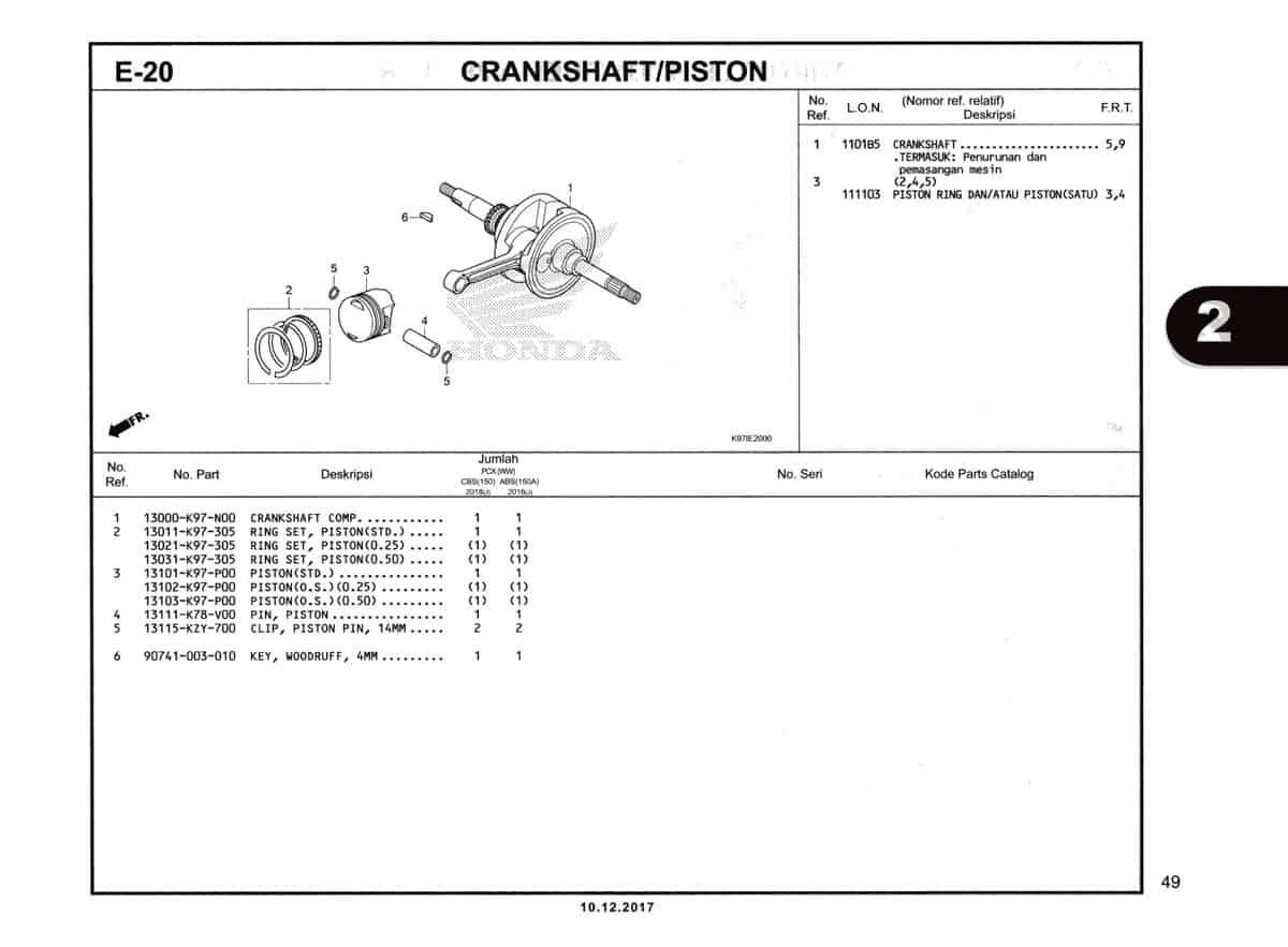E-20-Crankshaft-Piston-Katalog-Pcx-150-K97