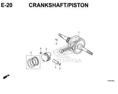 E-20-Crankshaft-Piston-New-Vario-150-K59J
