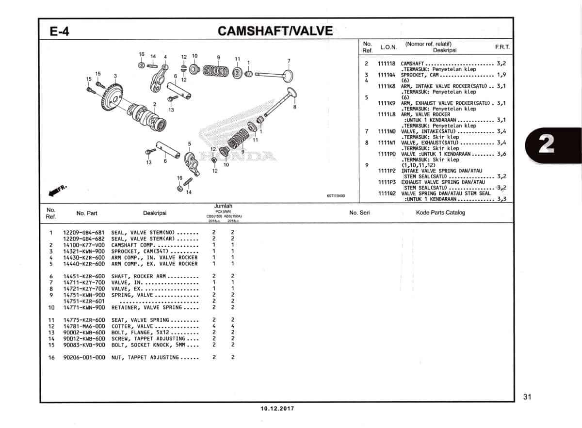 E-4-Camshaft-Valve-Katalog-Pcx-150-K97