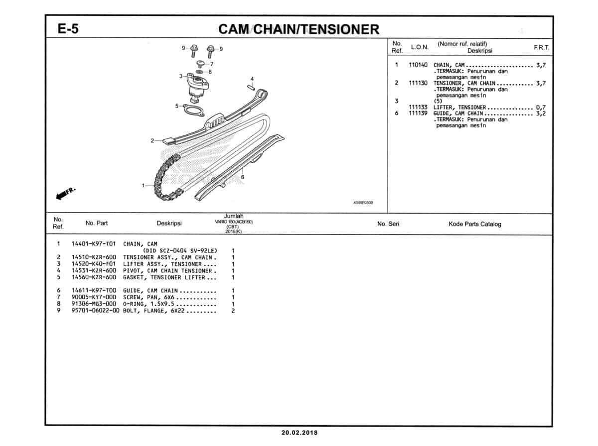 E-5-Cam-Chain-Tensioner-Katalog-New-Vario-150-K59J