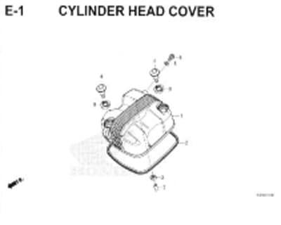 E1-Cylinder-Head-Cover-Honda-Crf-150L