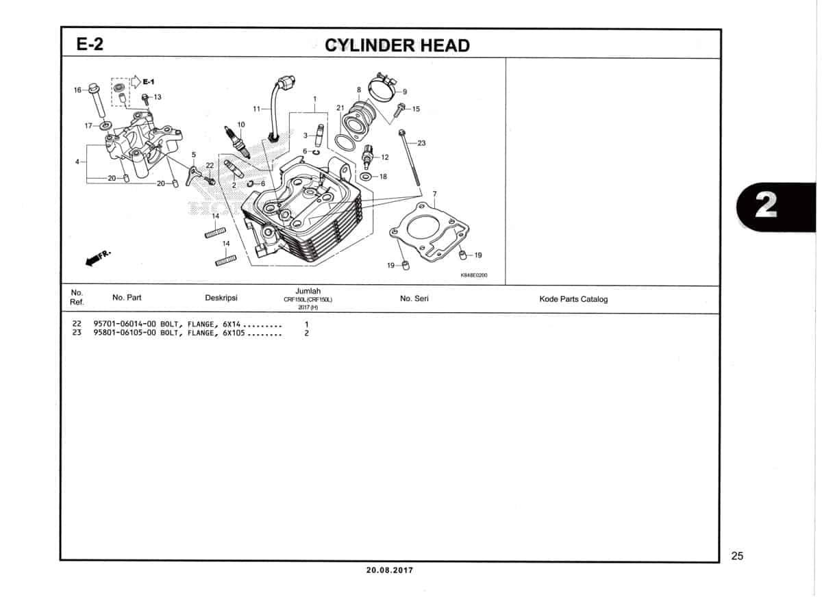 E2-Cylinder-Head-Katalog-Honda-Crf-150L