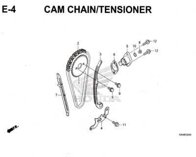 E4-Cam-Chain-Tensioner-Honda-Crf-150L
