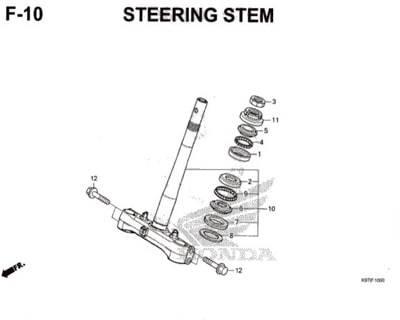 F-10-Steering-Stem-Pcx-150-K97