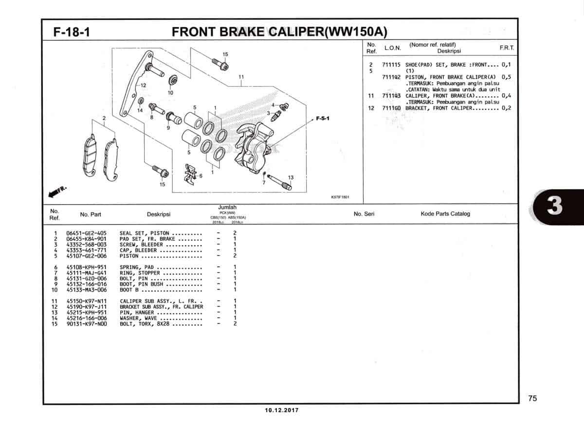 F-18-1-Front-Brake-Caliper-(WW150A)-Katalog-Pcx-150-K97