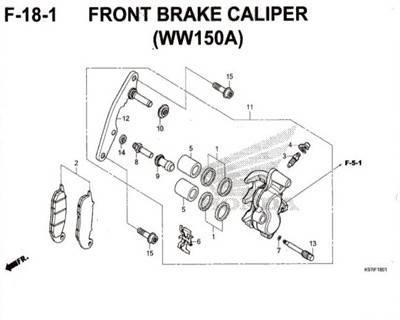 F-18-1-Front-Brake-Caliper-(WW150A)-Pcx-150-K97