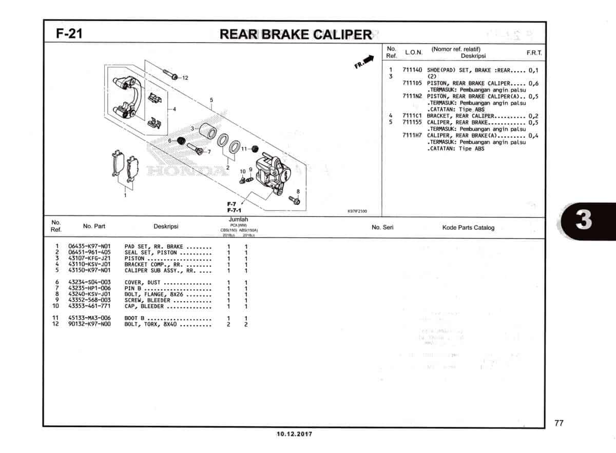 F-21-Rear-Brake-Caliper-Katalog-Pcx-150-K97
