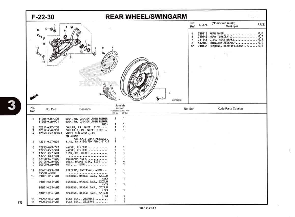 F-22-30-Rear-Wheel-Swingarm-Katalog-Pcx-150-K97
