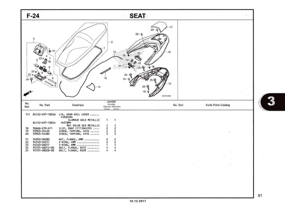 F-24-Seat-Katalog-Pcx-150-K97