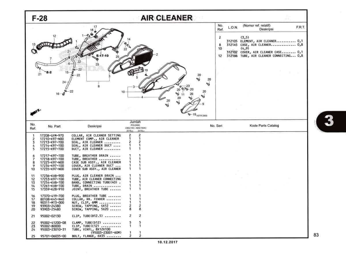 F-28-Air-Cleaner-Katalog-Pcx-150-K97