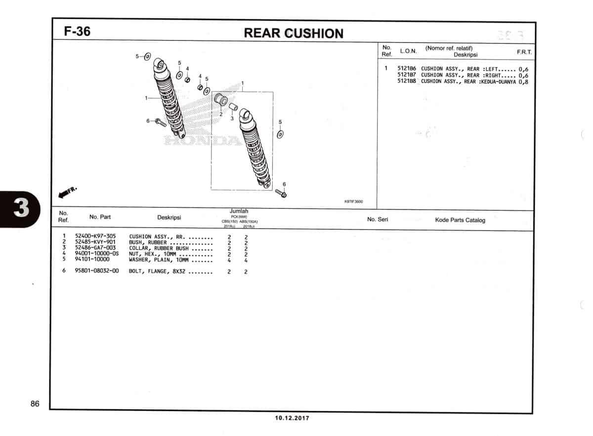 F-36-Rear-Cushion-Katalog-Pcx-150-K97