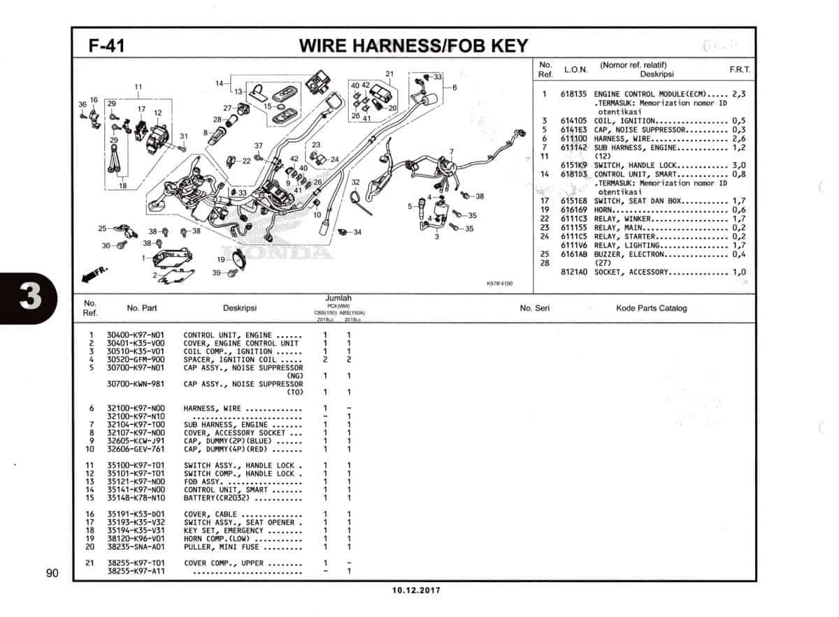 F-41-Wire-Harness-Fob-Key-Katalog-Pcx-150-K97