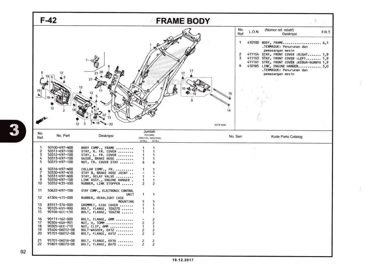 F-42-Frame-Body-Katalog-Pcx-150-K97