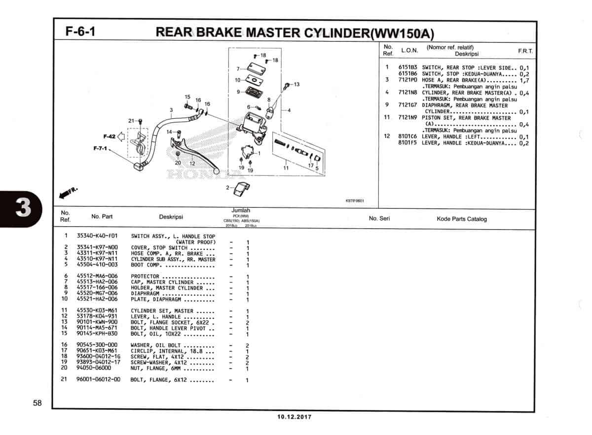 F-6-1-Rear-Brake-Master-Cylinder-(WW150A)-Katalog-Pcx-150-K97