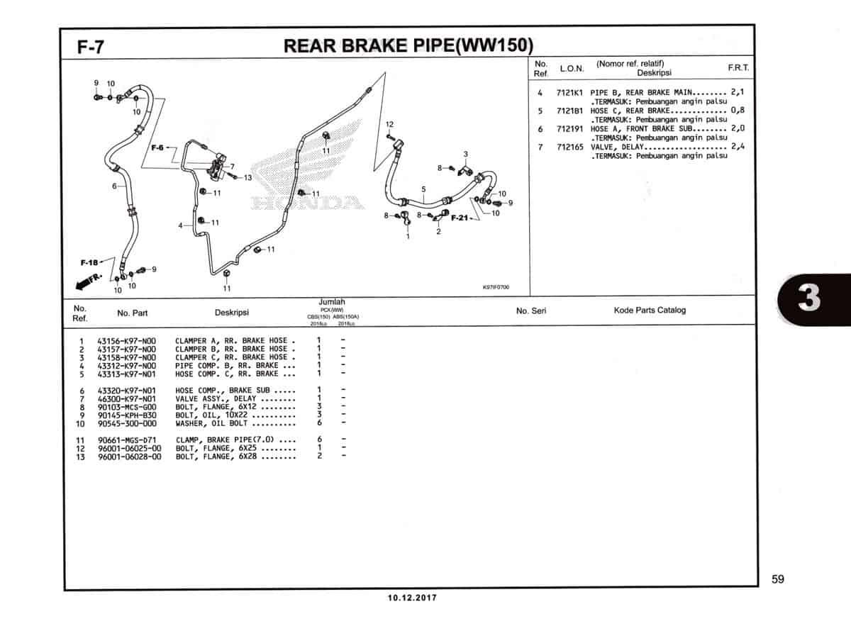 F-7-Rear-Brake-Pipe-(WW150)-Katalog-Pcx-150-K97