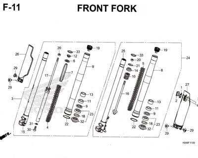 F11-Front-Fork-Honda-Crf-150L