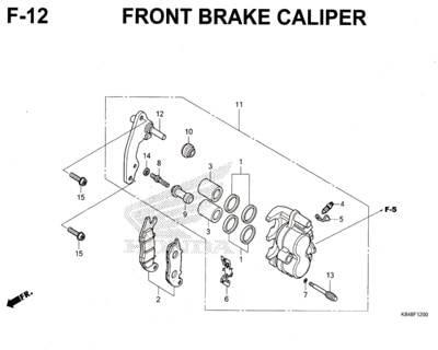 F12-Front-Brake-Caliper-Honda-Crf-150L