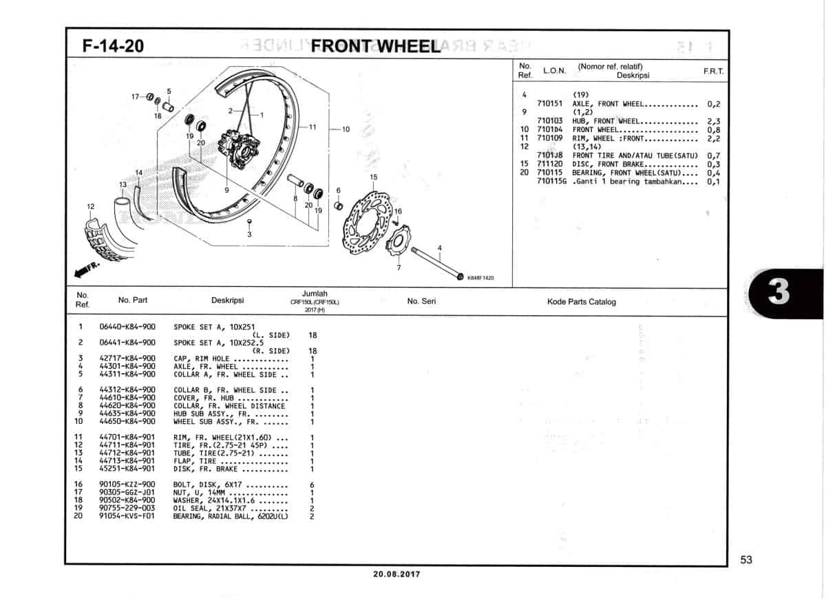 F14-20-Front-Wheel-Katalog-Honda-Crf-150L