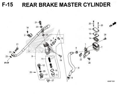 F15-Rear-Brake-Master-Cylinder-Honda-Crf-150L