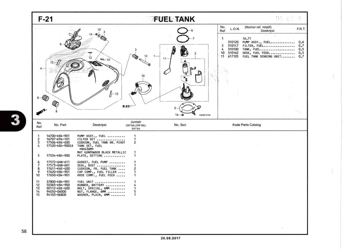 F21-Fuel-Tank-Katalog-Honda-Crf-150L