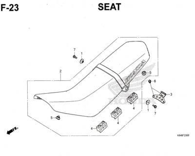 F23-Seat-Honda-Crf-150L