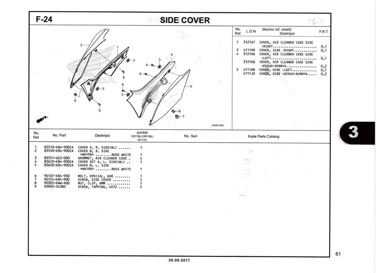F24-Side-Cover-Katalog-Honda-Crf-150L