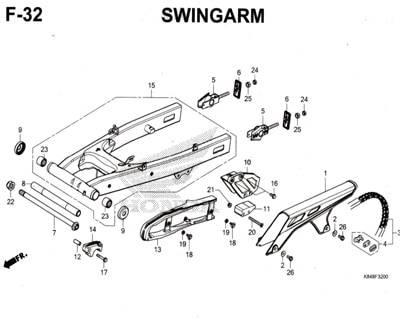 F32-Swingarm-Honda-Crf-150L