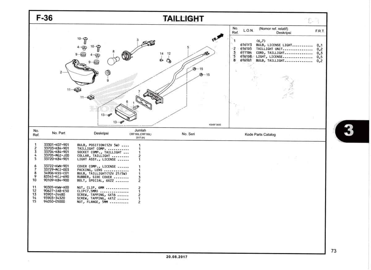F36-Taillight-Katalog-Honda-Crf-150L