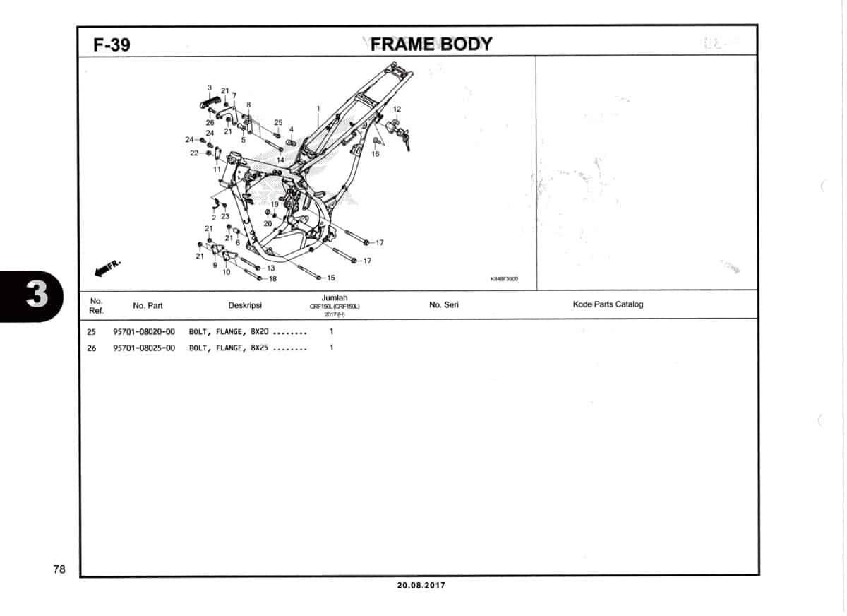 F39-Frame-Body-Katalog-Honda-Crf-150L