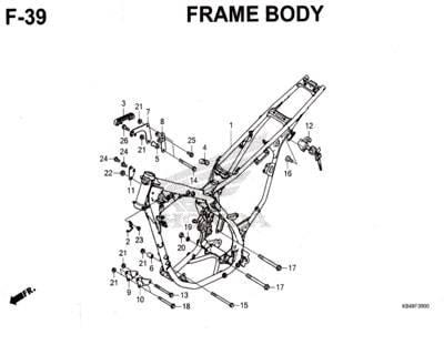 F39-Frame-Body-Honda-Crf-150L