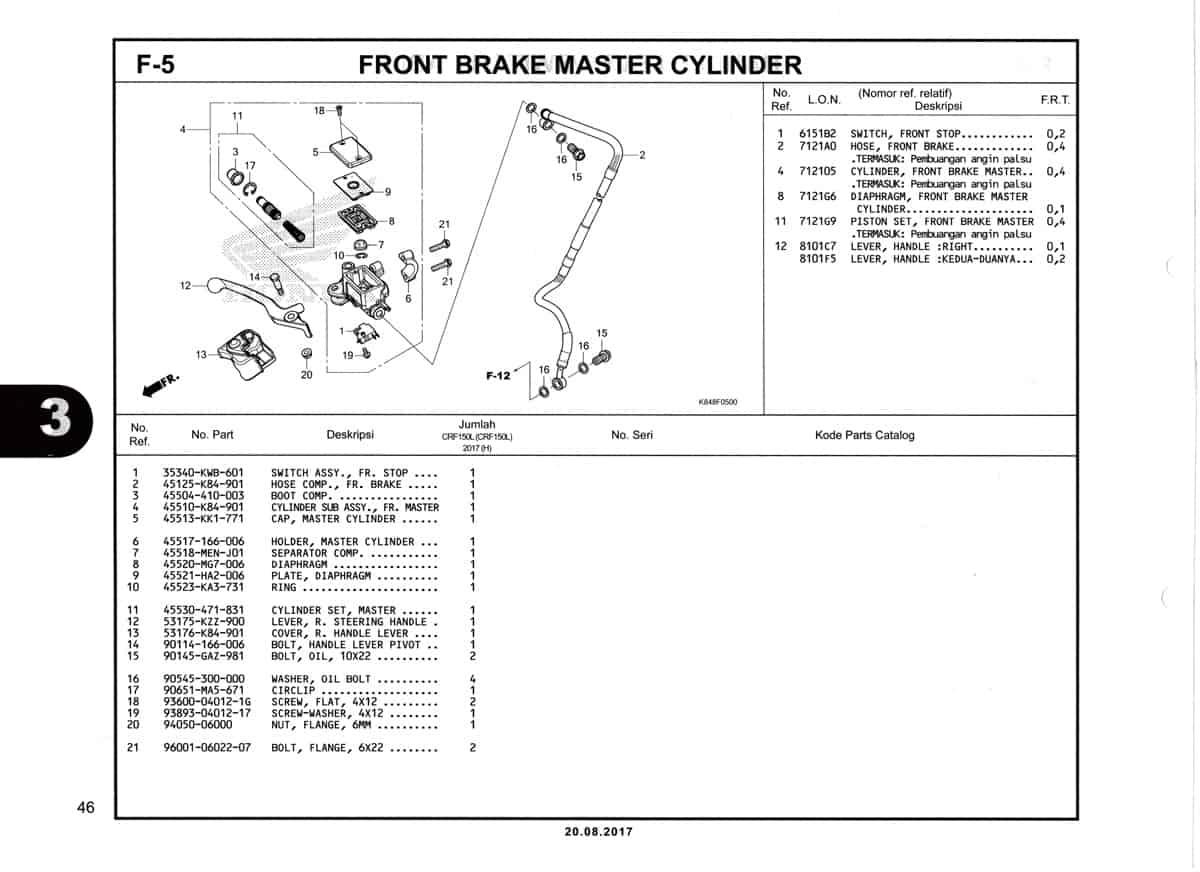 F5-Front-Brake-Master-Cylinder-Katalog-Honda-Crf-150L
